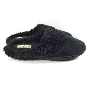 Dearfoams Women's Slippers Black Size Medium 7-8
